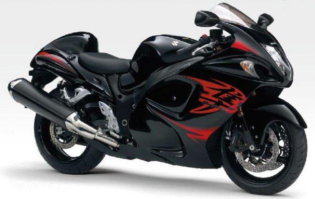 World Fastest Motorcycle-Suzuki Hayabusa 248 mph