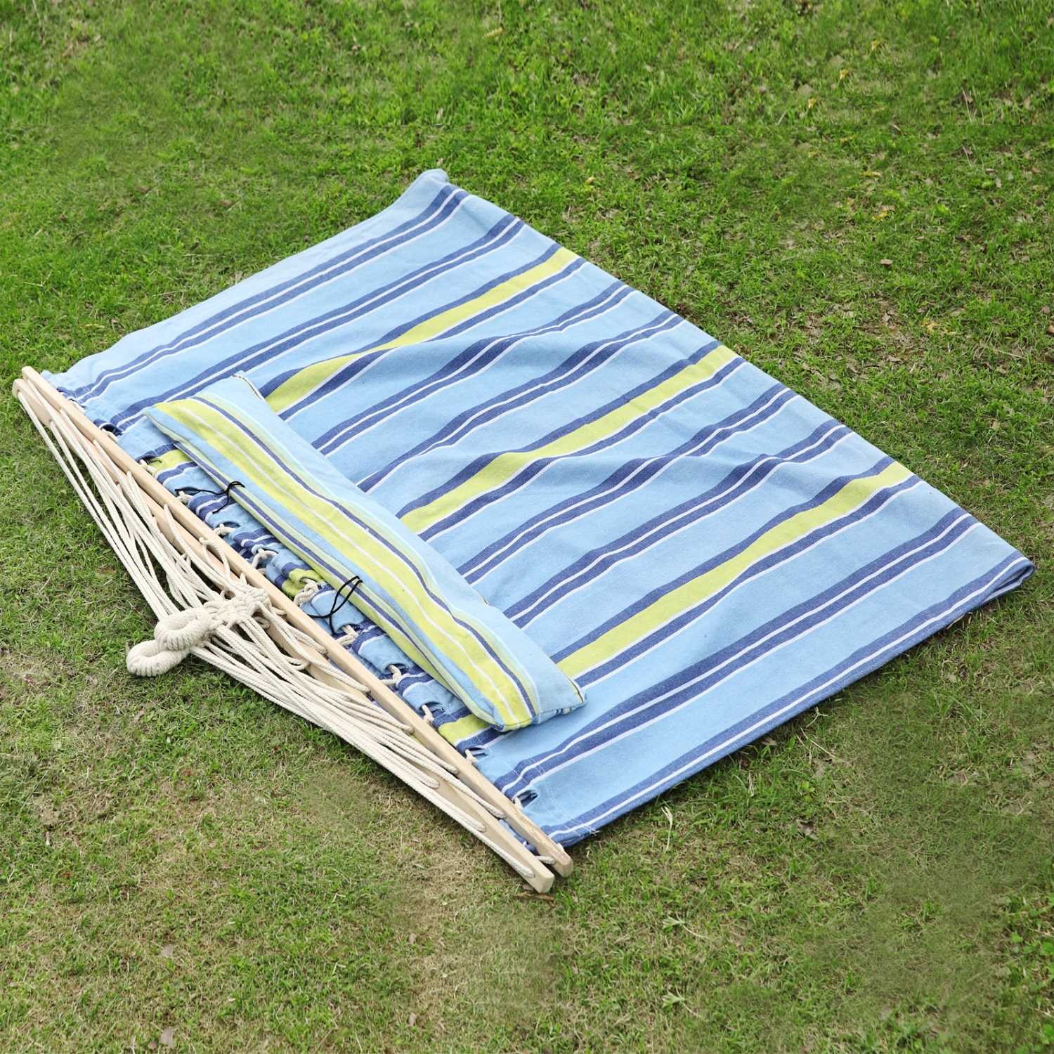 83 X55 Double Size Hammock Quilted Fabric Pillow Spreader