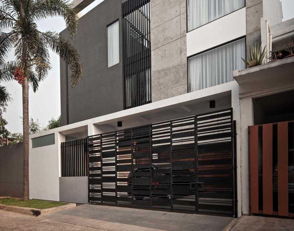 Desain Pagar Rumah Minimalis Sederhana Namun Menawan Arsitag
