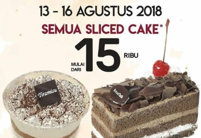Promo Hbdi All Sliced Cake At Breadtalk Grand Indonesia