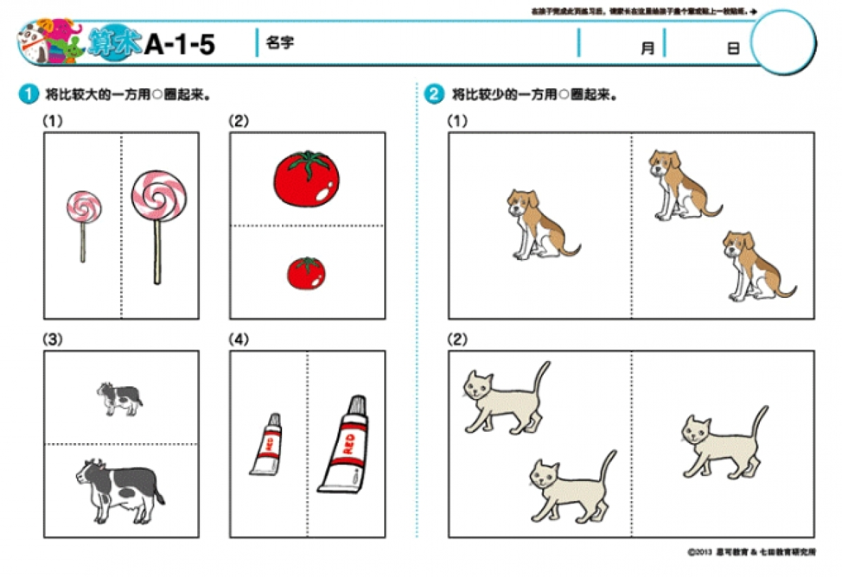 Shichida Activity Worksheet 20 Books For 10 Months Toysdirect