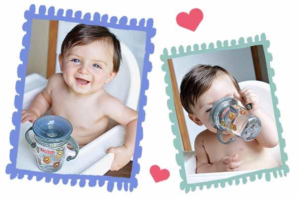 寶寶愛喝水神器!最好用的水杯就是「它」   嬰兒與母親