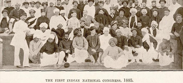 The First Session of Indian National Congress was held in Bombay ...