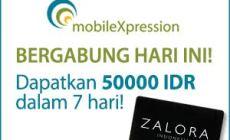 Permalink to MobileXpression : Bagi-bagi Voucher Zalora Rp 50.000 Gratis Hanya Dengan Instal Aplikasi Android