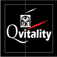 Qvitality: Natural Health for Men at Midlife. Branding Logo Design 4A. Image size:200x200px