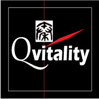 Qvitality: Natural Health for Men at Midlife. Branding Logo Design 5A. Image size:200x200px