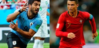 Here are complete Portugal vs Uruguay Live score details featuring POR vs URU live score updates, Portugal vs Uruguay live streaming details, Portugal vs Uruguay playing 11, POR Probable playing 11, URU Playing 11, Portugal vs Uruguay prediction score and Portugal vs Uruguay match highlights.