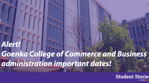 goenka college of commerce and business administration