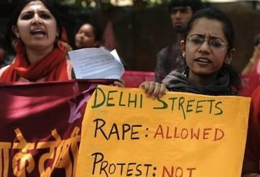 Rally against delhi gang rape