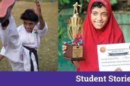 Ayesha noor karate champion interview student stories