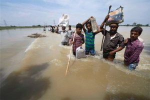Flood in Purnea