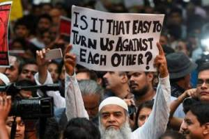 Protest against lynching