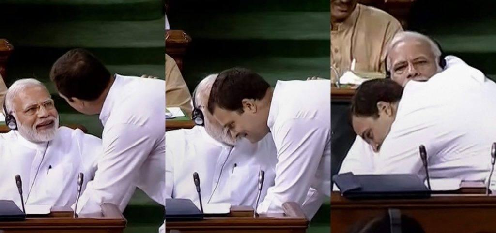 عدم اعتماد تجویز : راہل گاندھی نے کہا ،وزیر اعظم مجھ سے آنکھ نہیں ملا سکتے