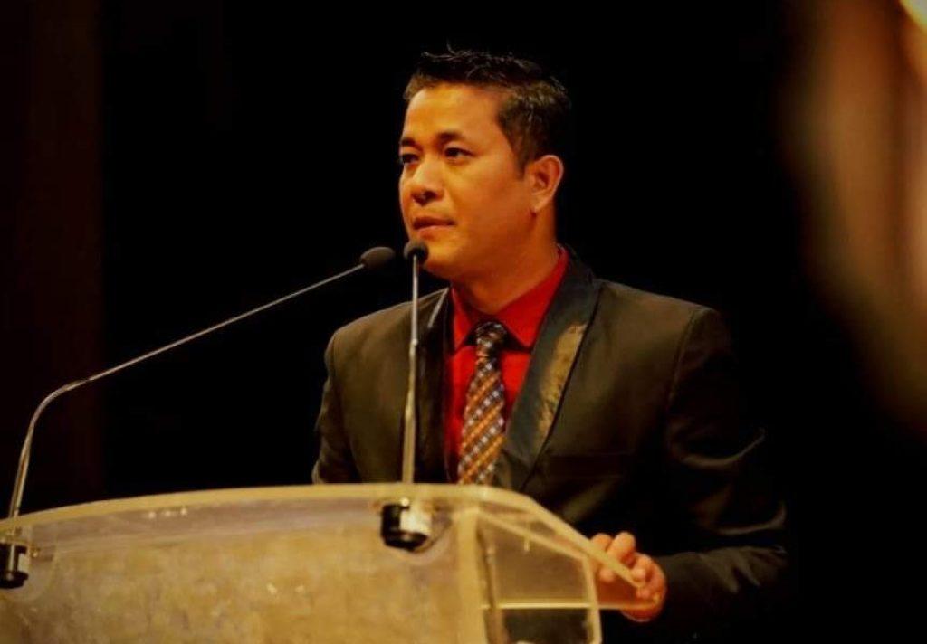 صحافی کشورچندر وانگ کھیم (فوٹو:بہ شکریہ،فیس بک)