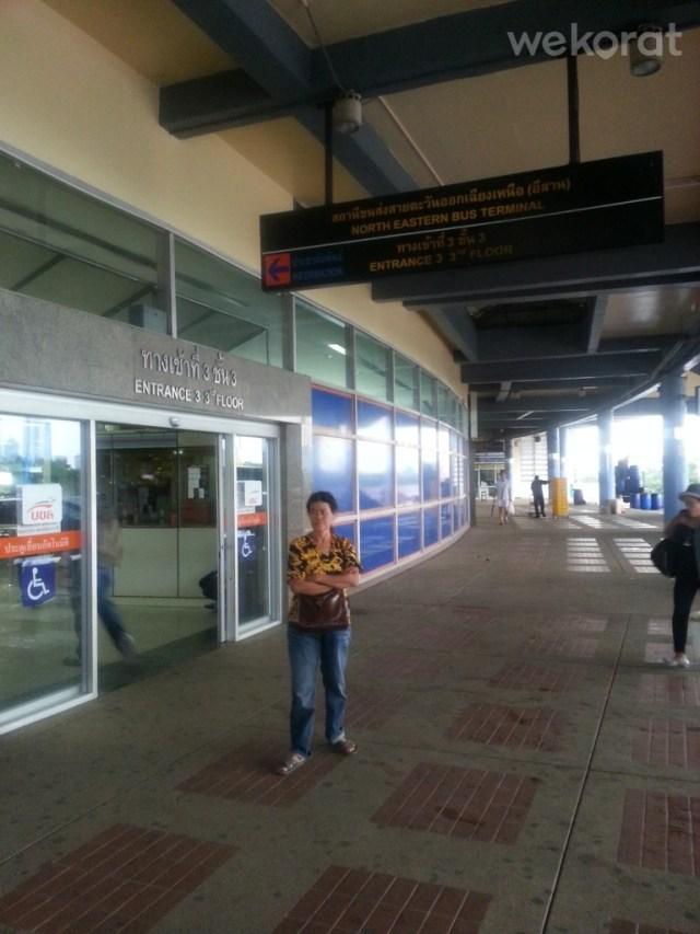 ทางเข้าสถานีขนส่งหมอชิต 2 สายอีสาน (ชั้น 3)