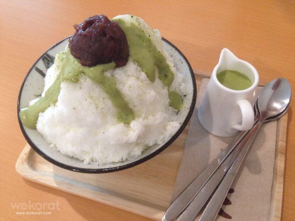 บิงซูชาเขียว