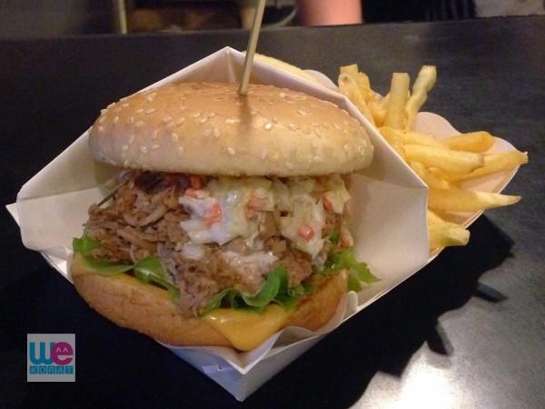 Pulled Pork Burger ร้าน Third World
