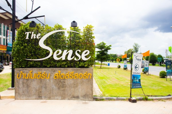 The sense-ป้าย