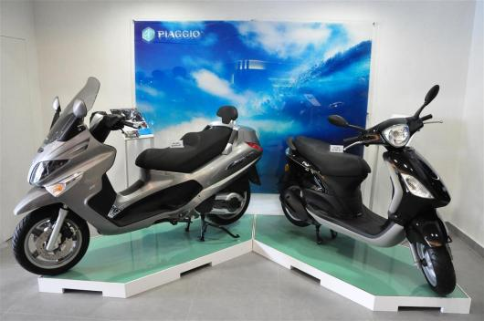 Piaggio Liberty 150cc Launch at New Vespa Showroom - 43