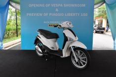 Piaggio Liberty 150cc Launch at New Vespa Showroom - 63