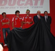Ducati Monster 795 Launch - 03 - Valentino Rossi
