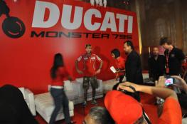 Ducati Monster 795 Launch - 053 Valentino Rossi