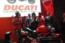 Ducati Monster 795 Launch - 079 Valentino Rossi