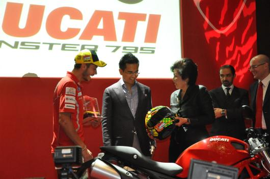 Ducati Monster 795 Launch - 092 Valentino Rossi