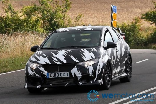 2015 Honda Civic Type R Spy Shots 001