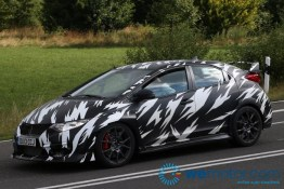 2015 Honda Civic Type R Spy Shots 004