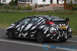 2015 Honda Civic Type R Spy Shots 005
