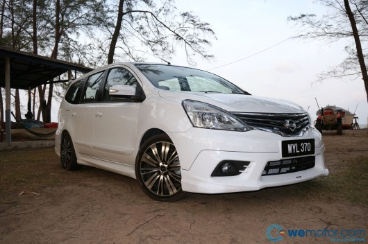 2014 Nissan Grand Livina Tuned By Impul test Drive 021