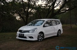 2014 Nissan Grand Livina Tuned By Impul test Drive 036