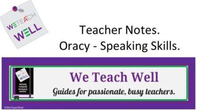 teaching speaking skills.