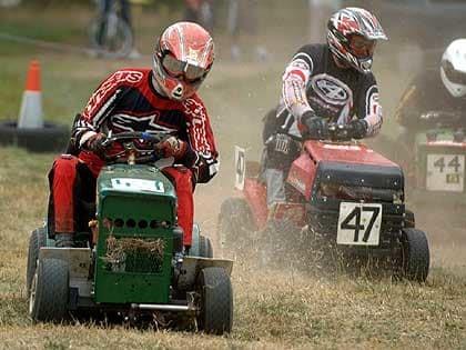 Don't ride a lawn mower to financial freedom