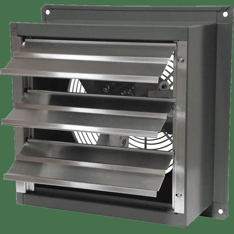 canarm 12 in shutter mounted exhaust fan