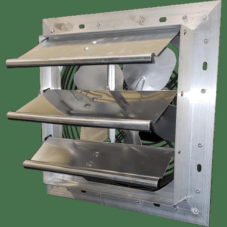 hessaire 12 inch shutter mounted exhaust fan