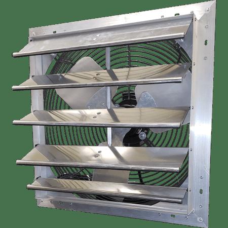 hessaire 24 inch shutter mounted exhaust fan