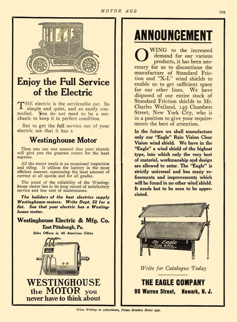 Westinghouse Motors Archives Chuck S Toyland
