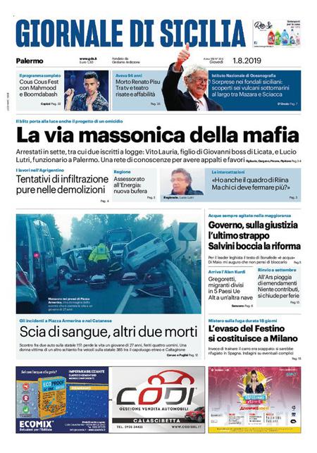 Rassegna Stampa 01 08 2019 Rassegna Stampa Cagliaripad