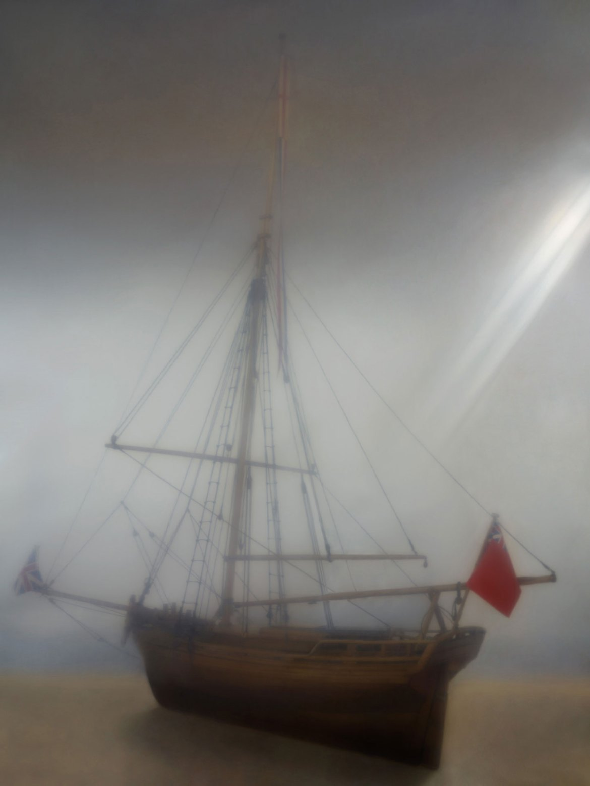 Photograph of the science museum's ship model collection