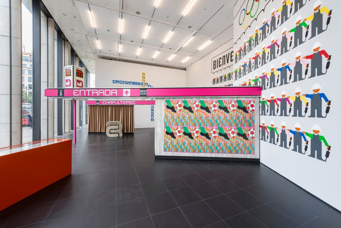 Lance Wyman Bloomberg Space