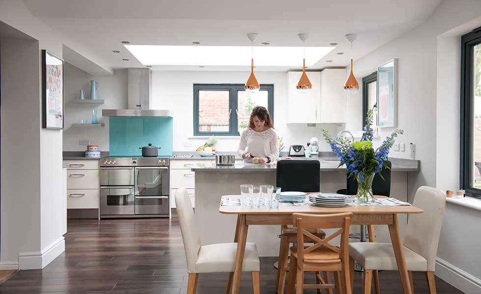 Galley Kitchen Diner Ideas