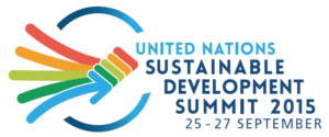Sustainable Development Summit 2015 Logo