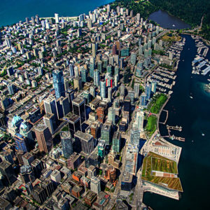 Downtown Vancouver, courtesy of ecstaticist via Flickr.