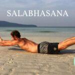 Salabhasana, open de voorkant van je lichaam!