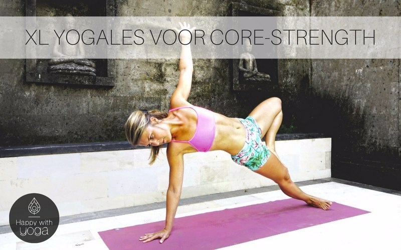 xl yogales voor core-strength