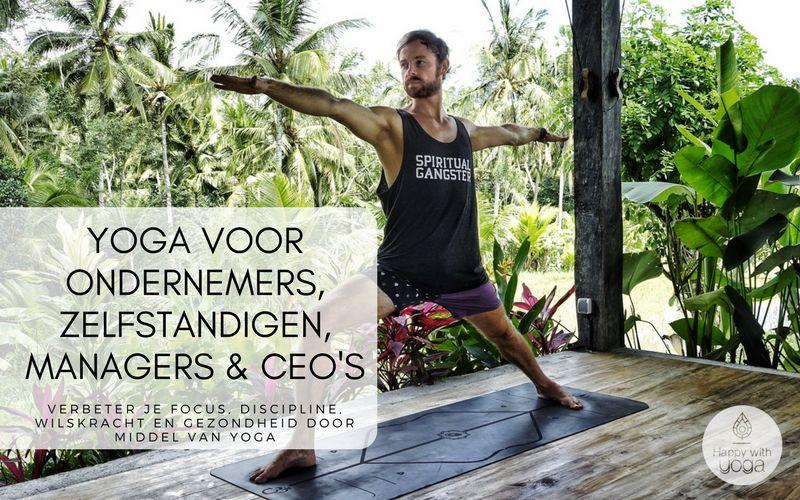 yoga voor ondernemers