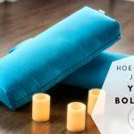 Hoe gebruik je een Yoga bolster?