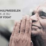 Welke hulpmiddelen gebruik je bij Iyengar Yoga?